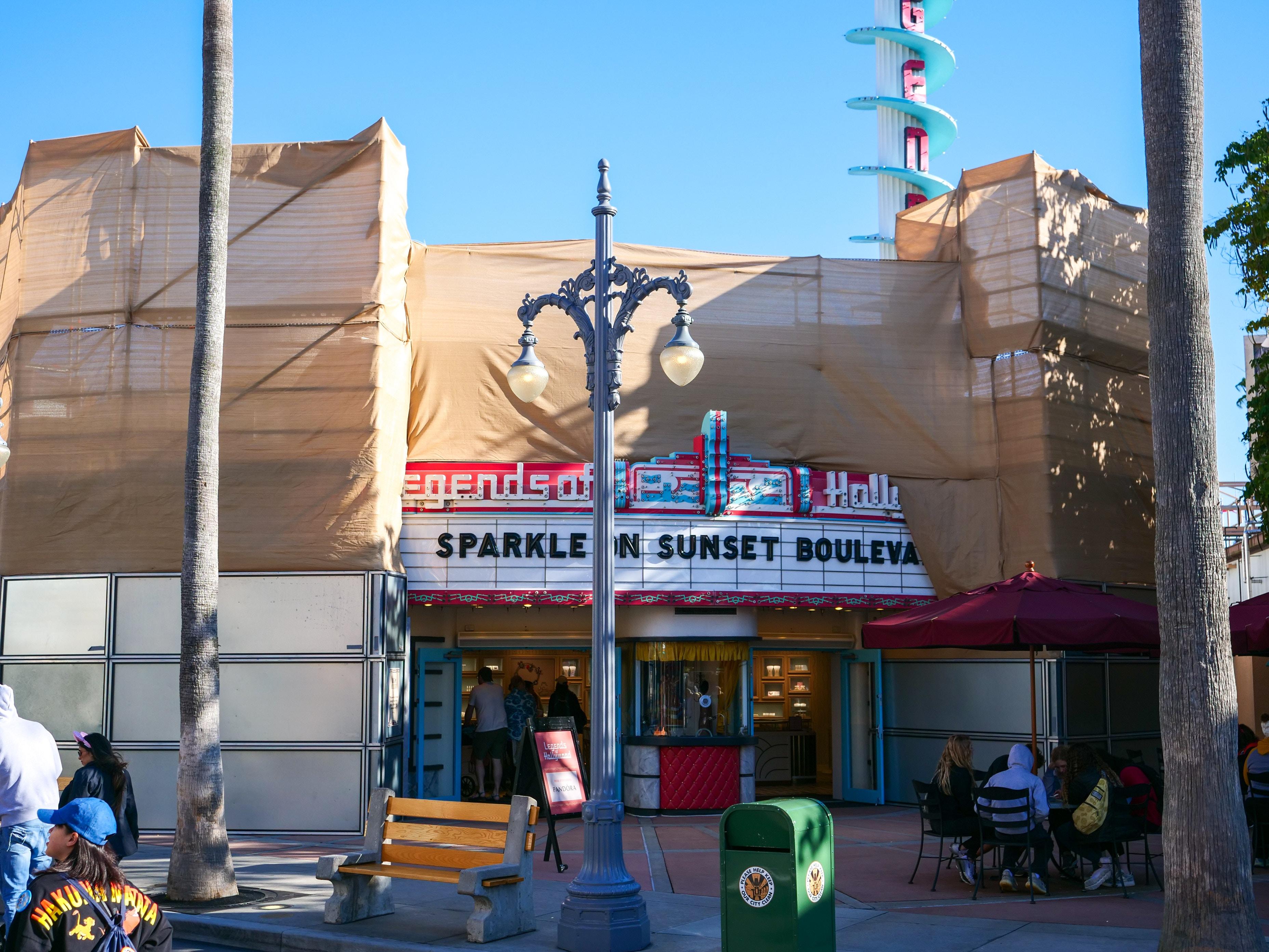 Exterior Refurbishment at Legends of Hollywood