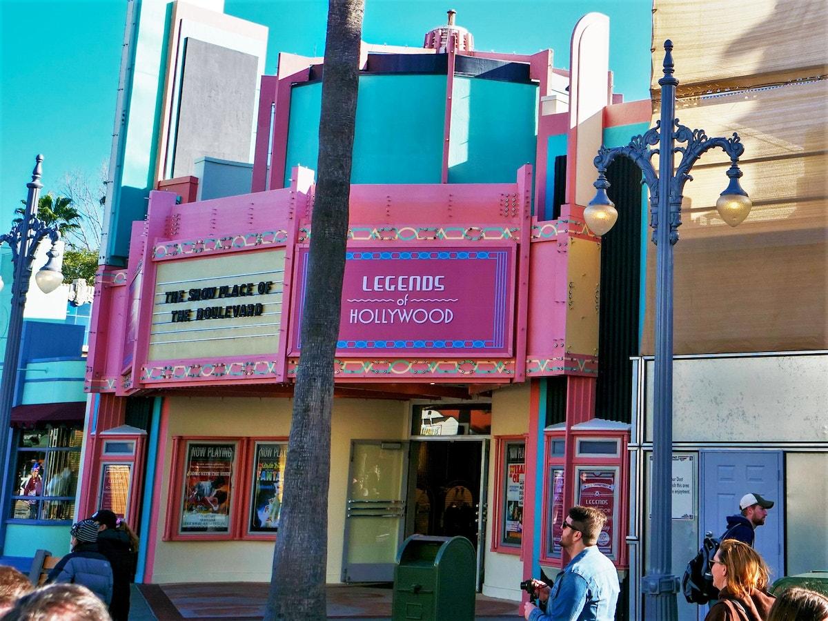 Legends of Hollywood Exterior Refurbishment