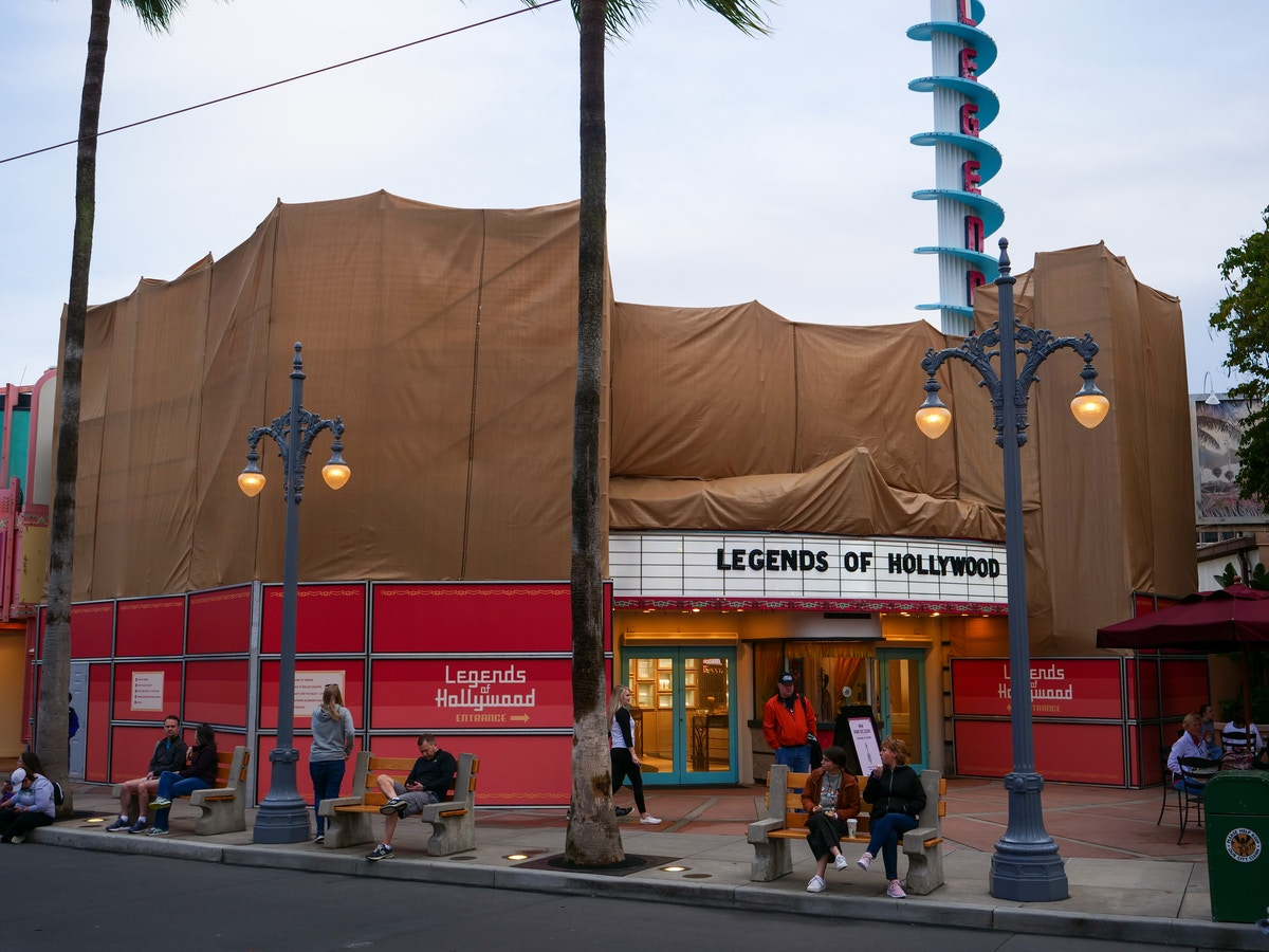 Legends of Hollywood Refurbishment
