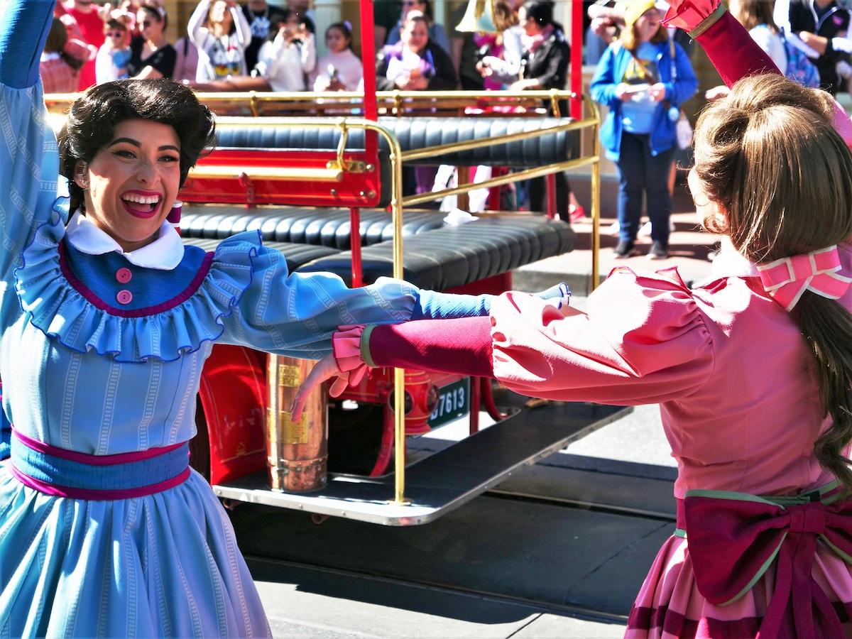Main Street Trolley Show Dancers