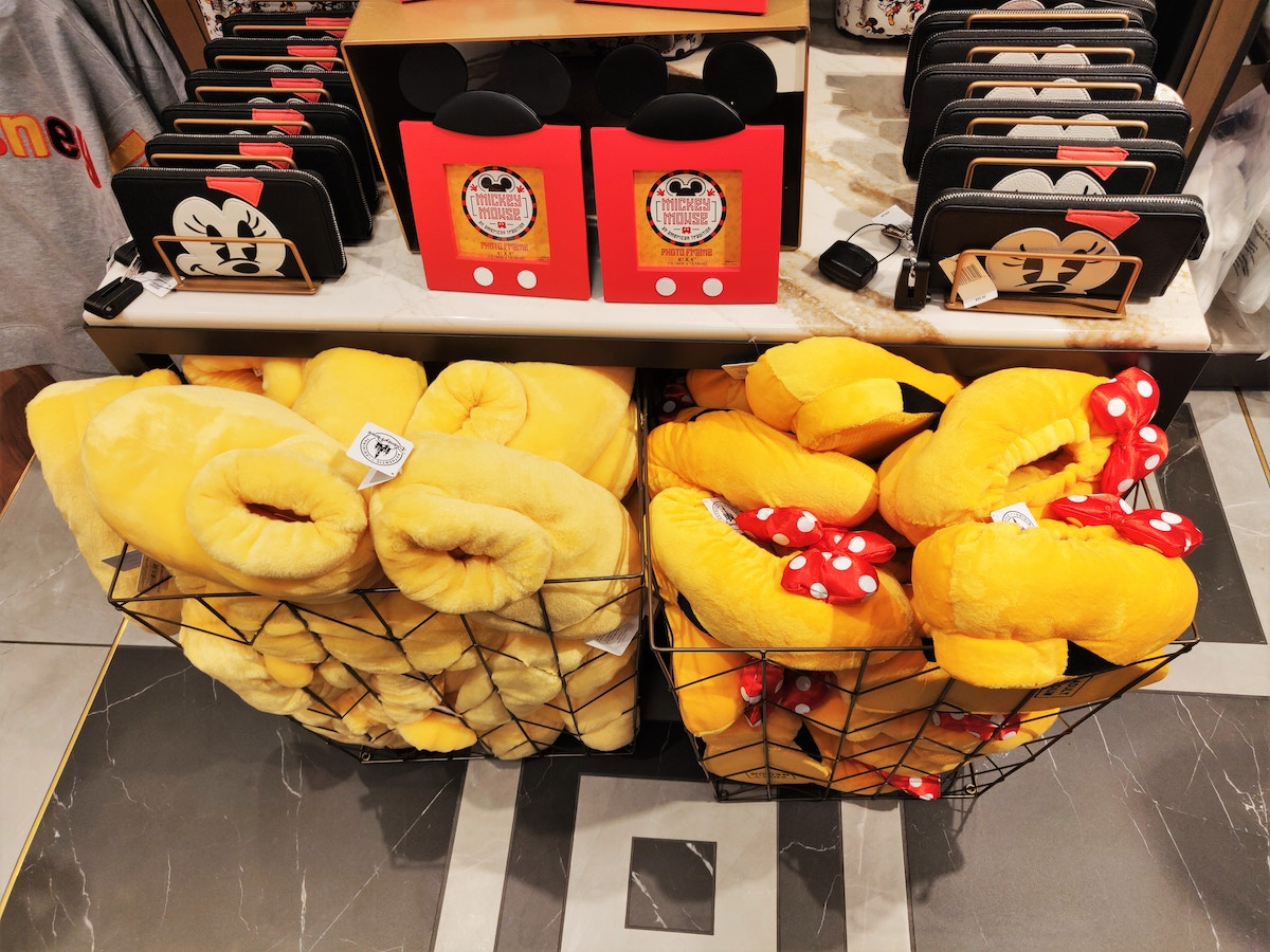 Mickey and Minnie Slippers