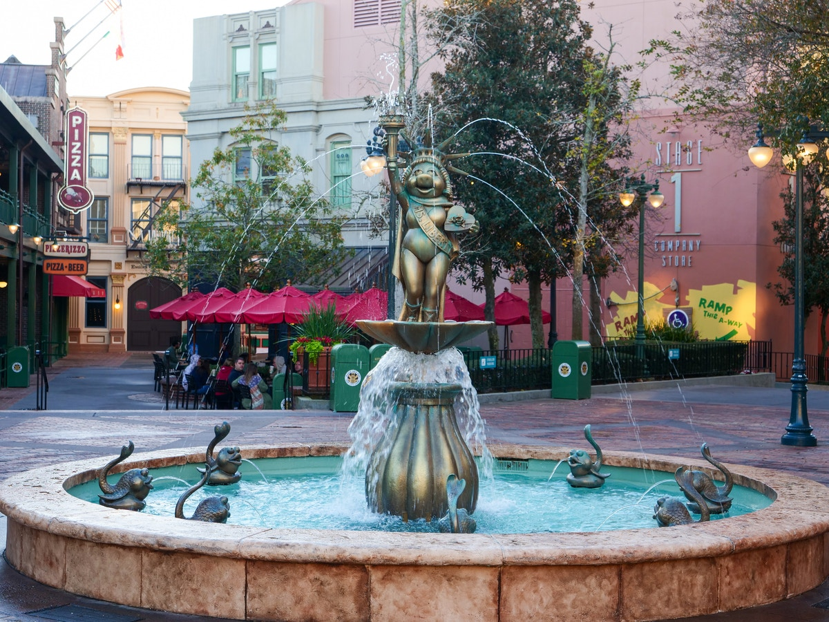 Muppet Vision Fountain