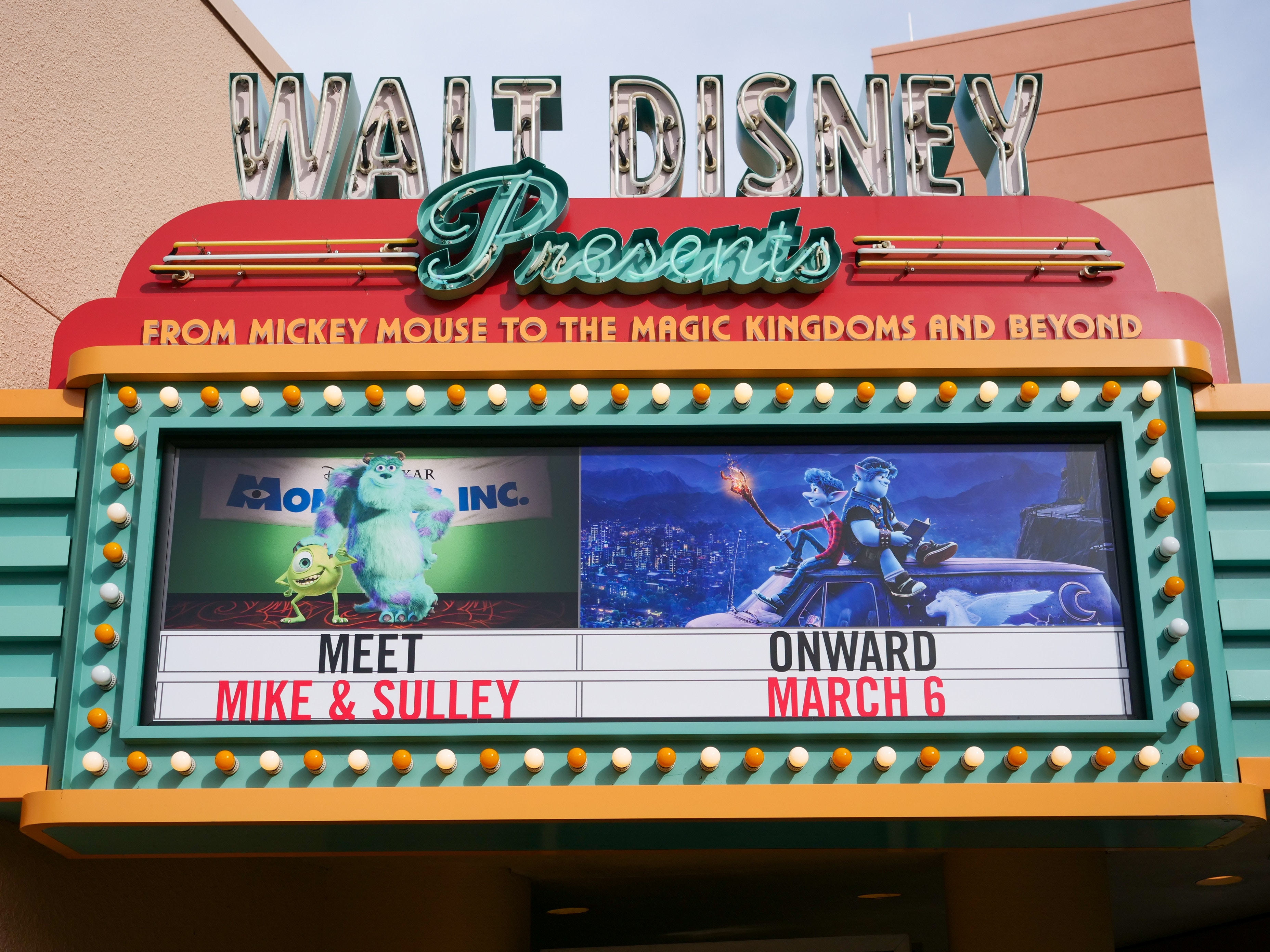 Onward Preview Marquee