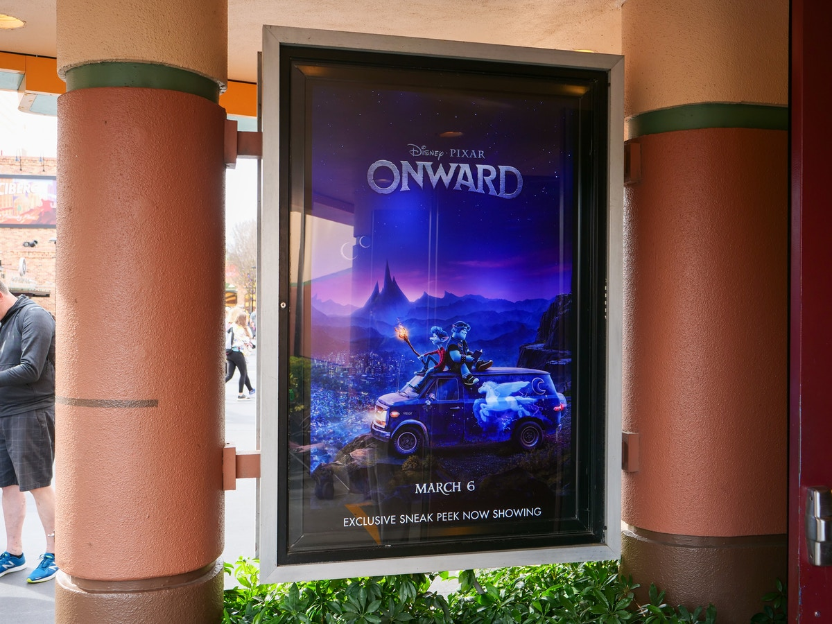 Onward Preview Poster