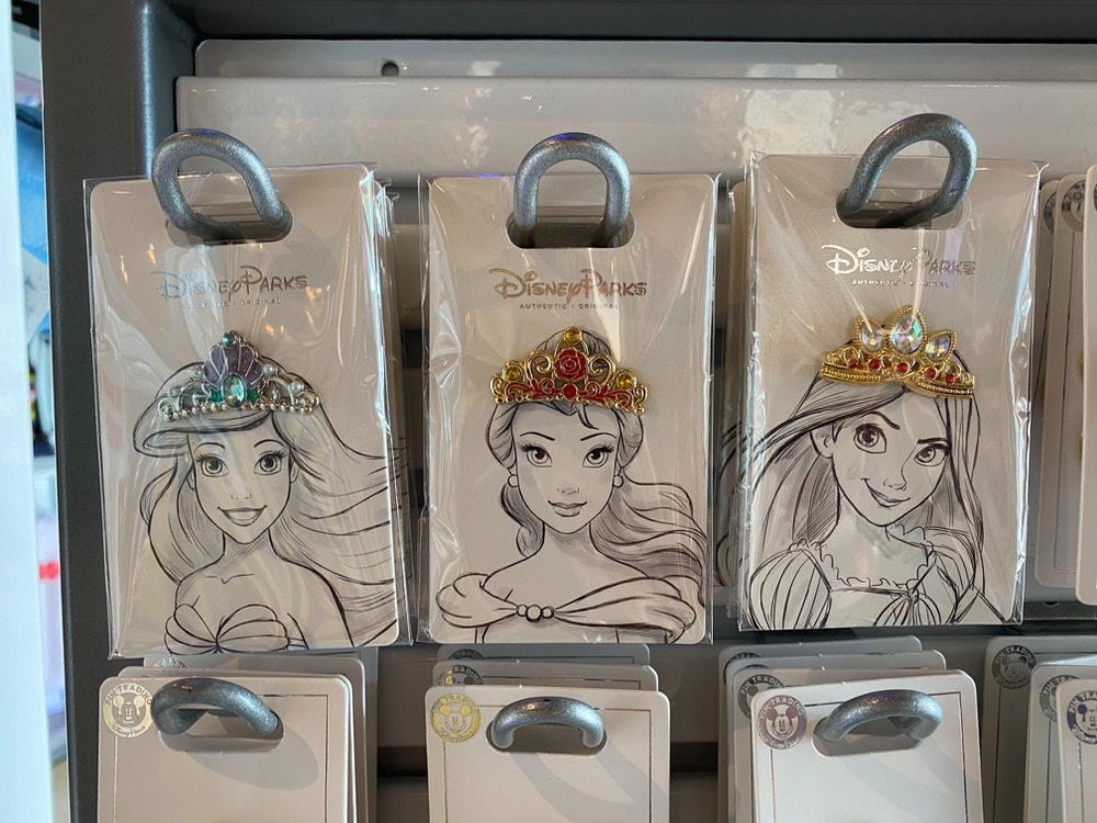 Princess Tiara Pin