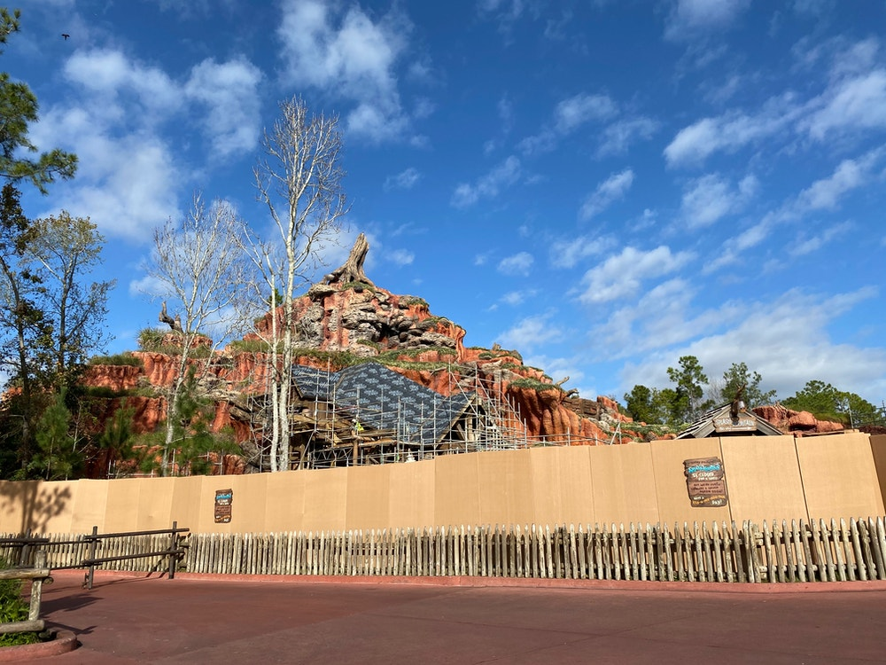 splash mountain refurb