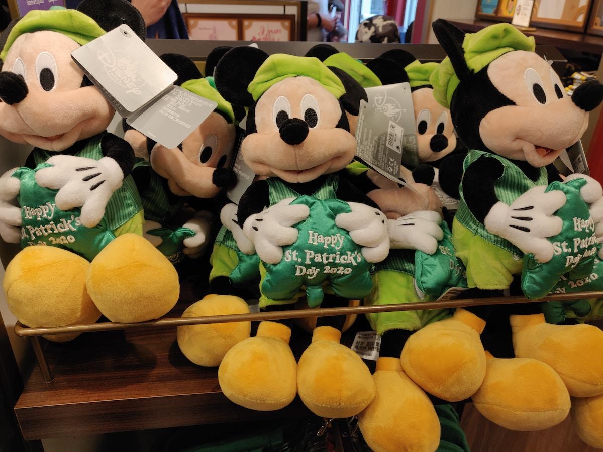 St. Patricks Day Mickey