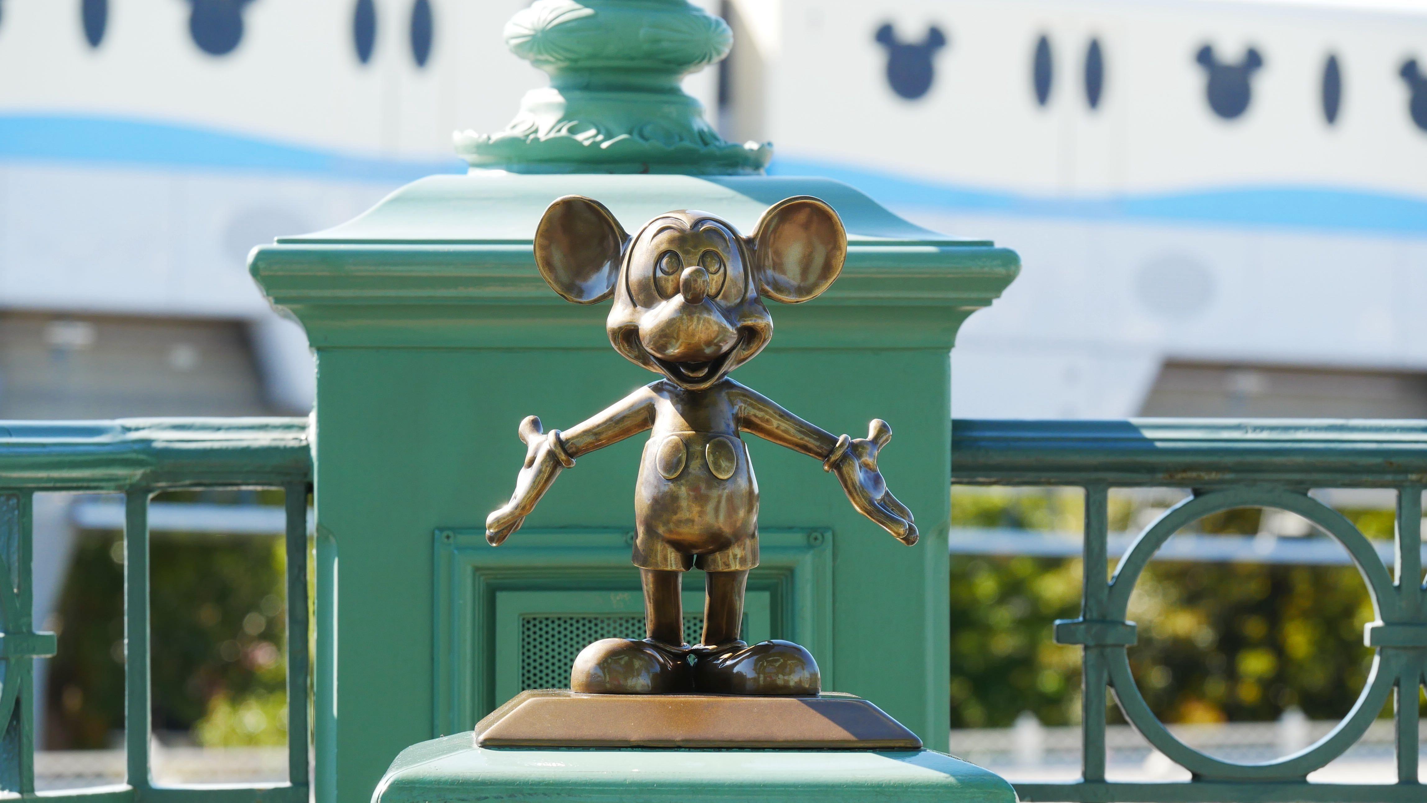 Tokyo Disneyland Mickey Statue