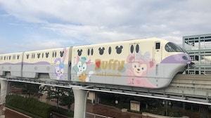 Tokyo Disney Resort Line Monorail Duffy
