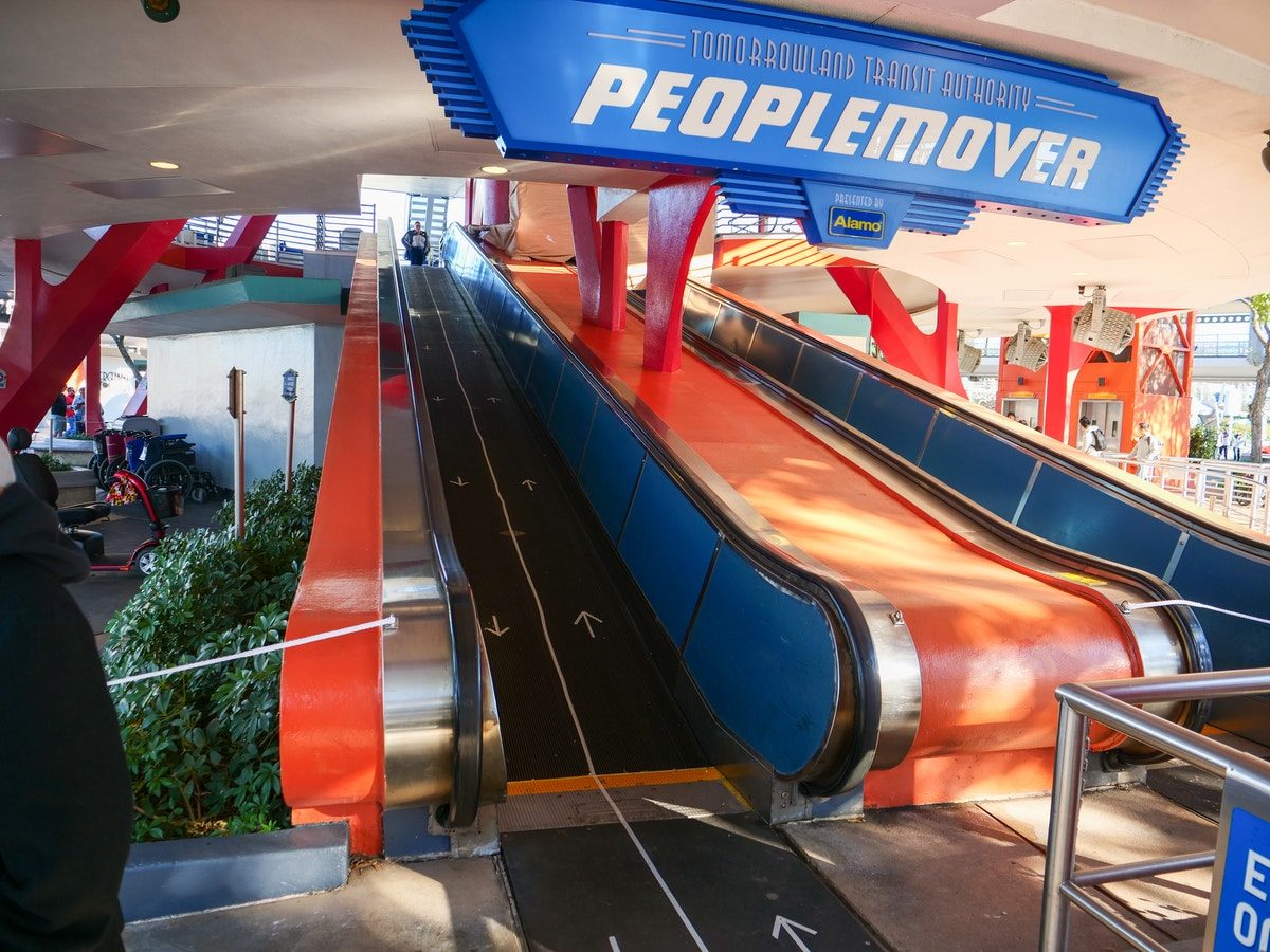 PeopleMover Ramp Construction