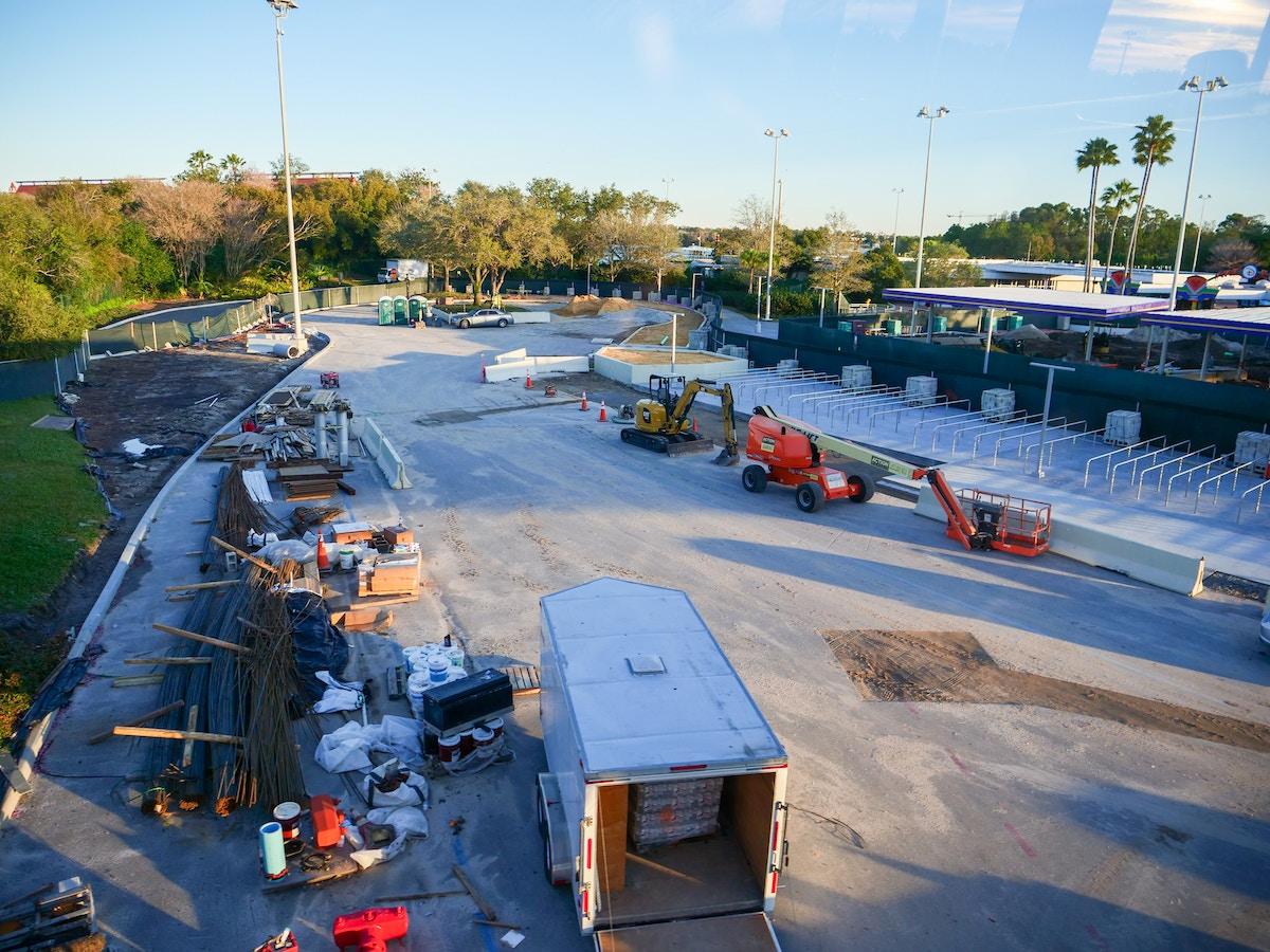 Transportation and Ticket Center Construction
