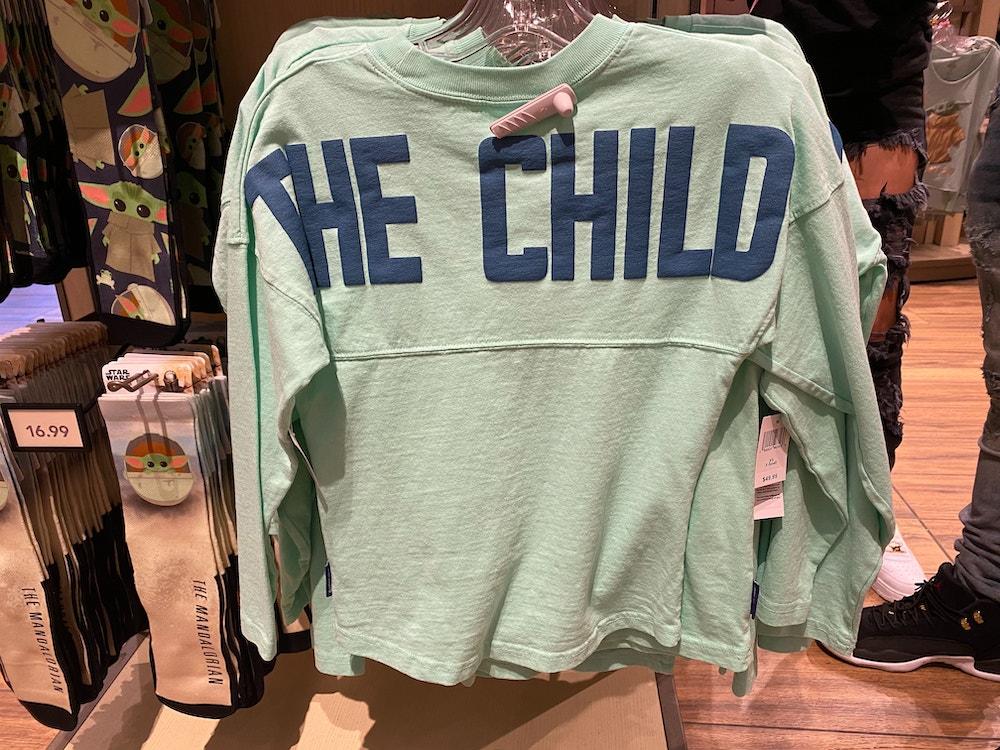 the child baby yoda spirit jersey