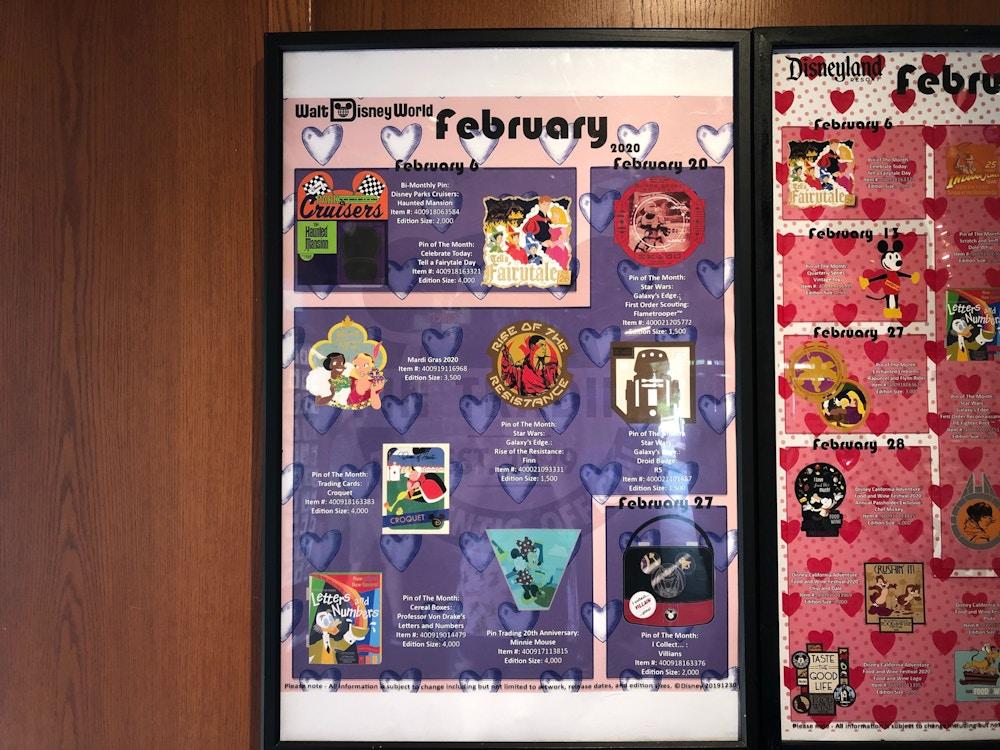 February 2020 pins