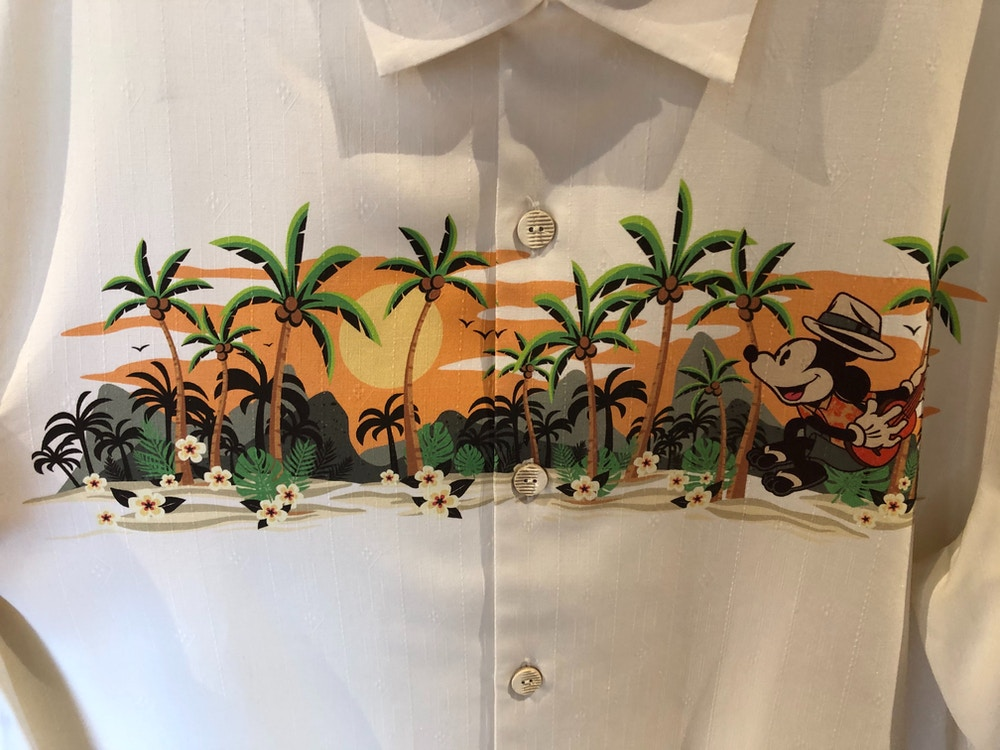Tommy Bahama Mickey and Minnie Mouse Shirt