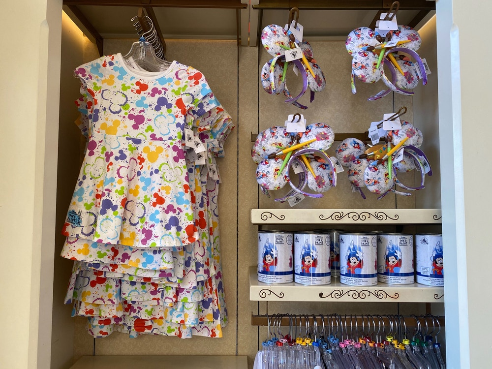 ink and paint girls dress