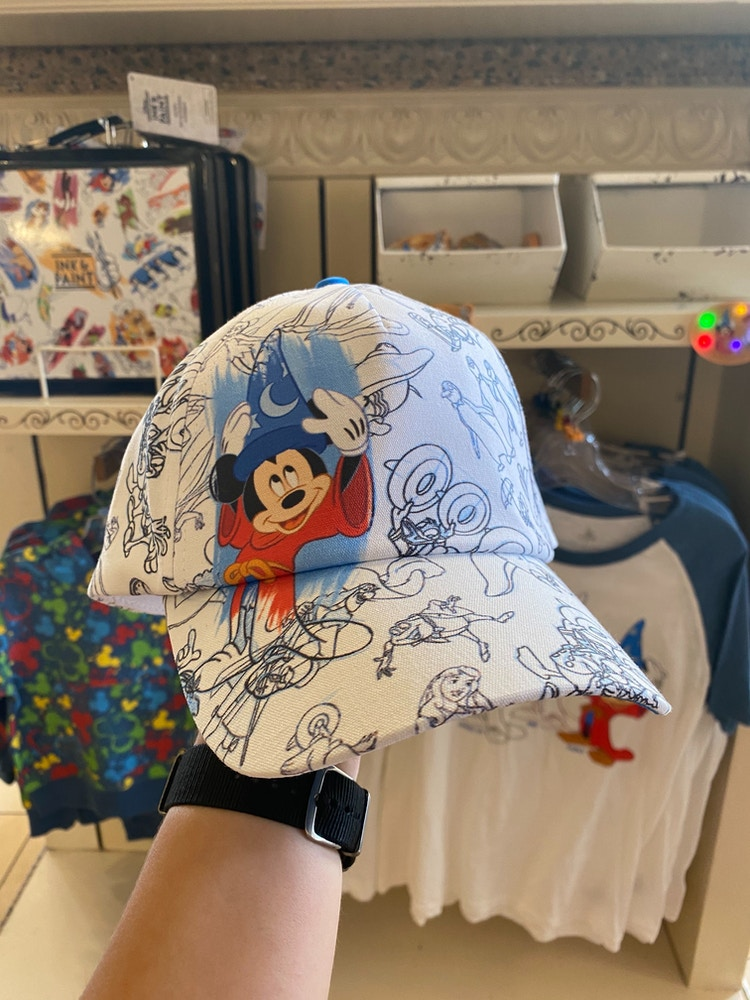 ink and paint youth hat