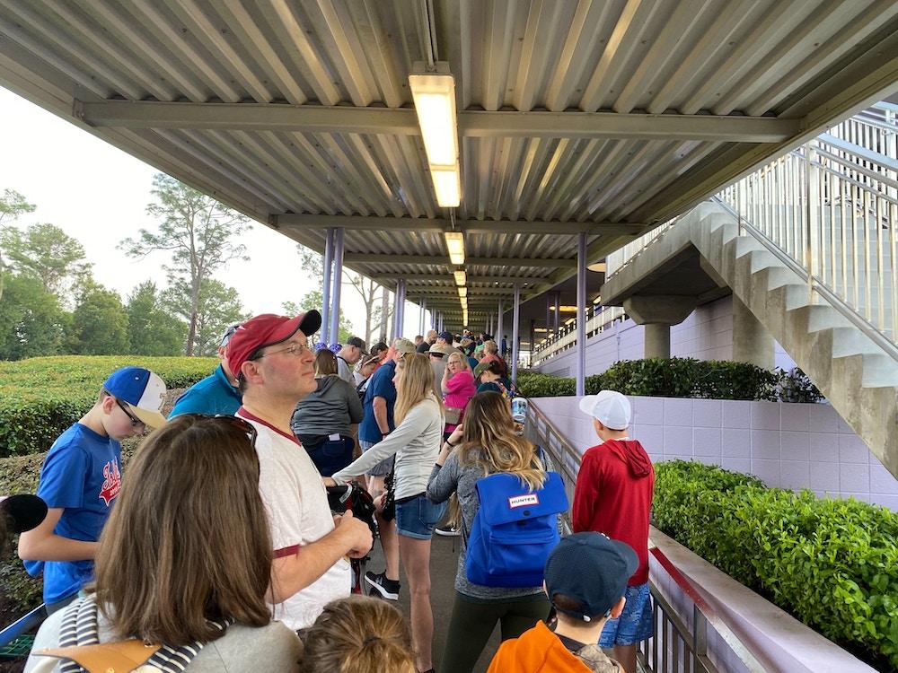 monorail traffic