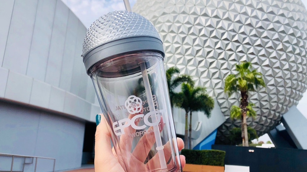 spaceship earth tumbler