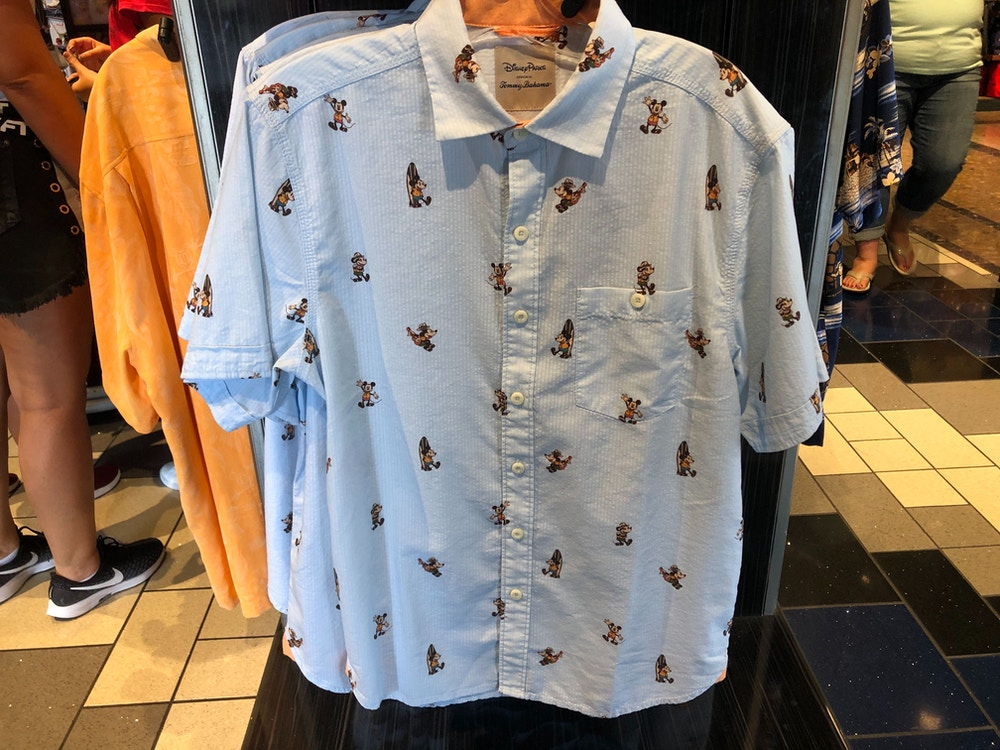Tommy Bahama Mickey Mouse Shirt