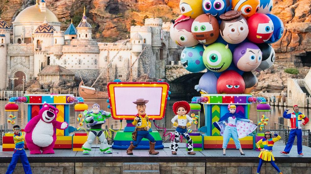 Pixar Playtime Pals Tokyo DisneySea