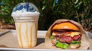 Burger and Milkshake