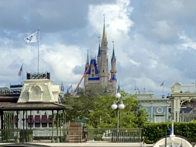 Cinderella castle makeover