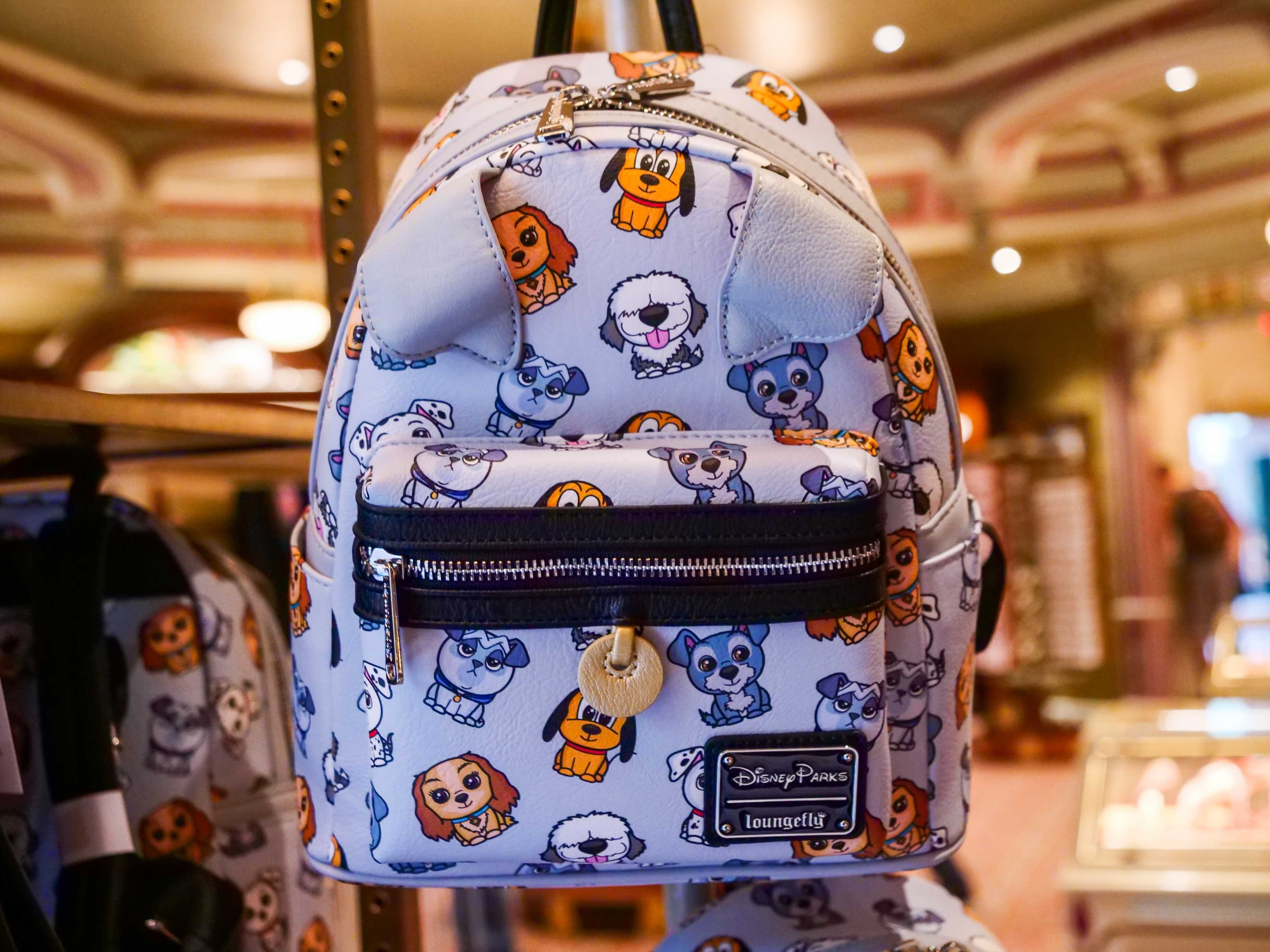 Loungefly Disney Cats Dogs mini backpack bag Aristocats Lady Tramp new