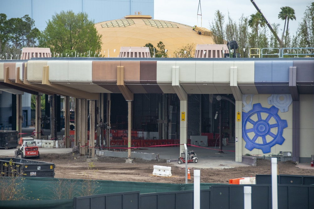 Photos Epcot Future World Construction Updates 3 9 20