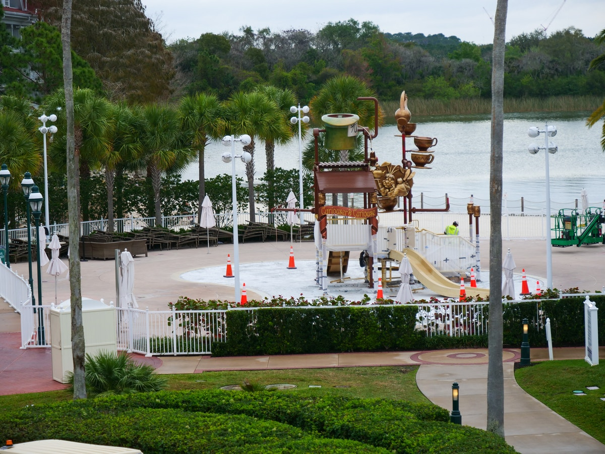 Grand Floridian Water Playground