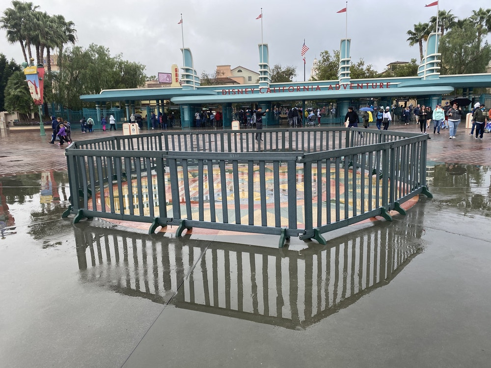 esplanade DL rain