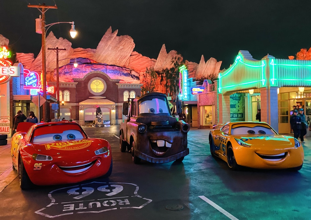 cars land dca
