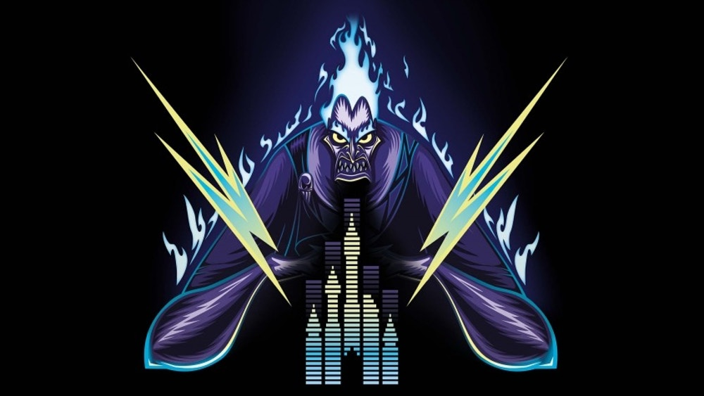hades electroland 2020 logo disneyland paris