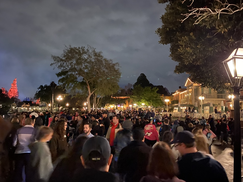 fantasmic crowds