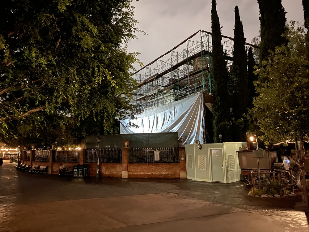 haunted mansion refurb