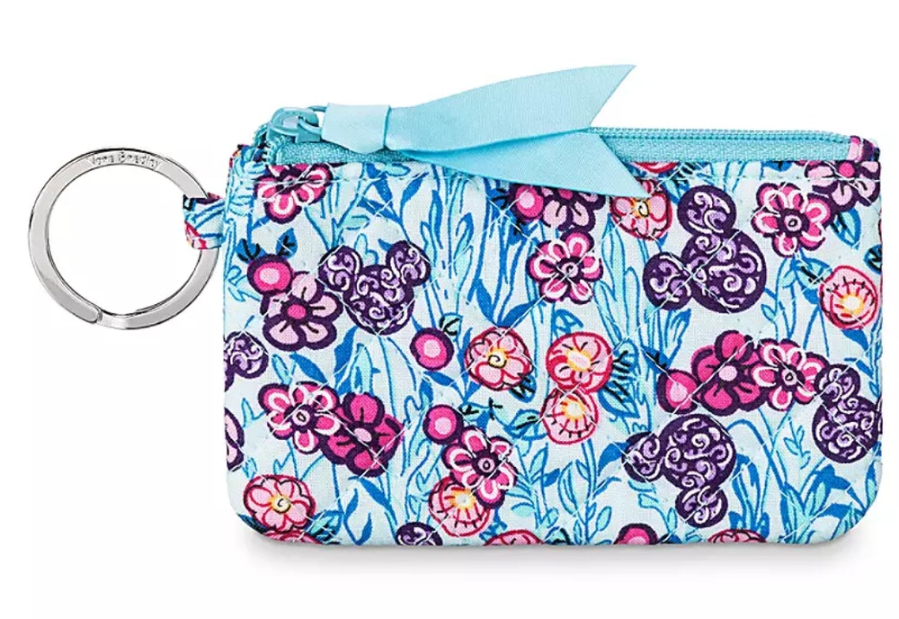 colorful garden vera bradley id case
