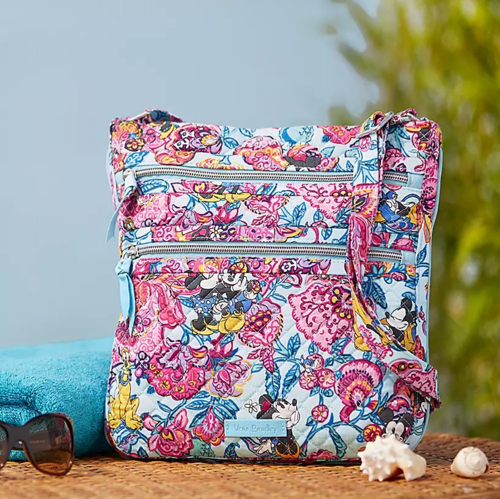 colorful garden vera bradley hipster bag