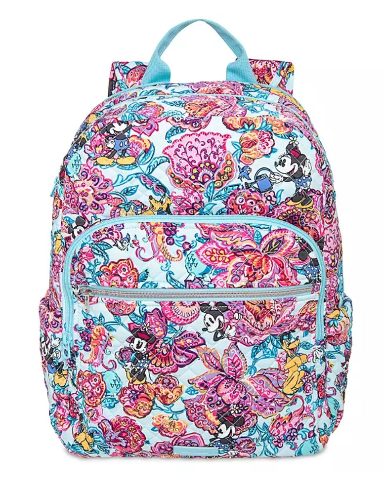 colorful garden vera bradley campus backpack