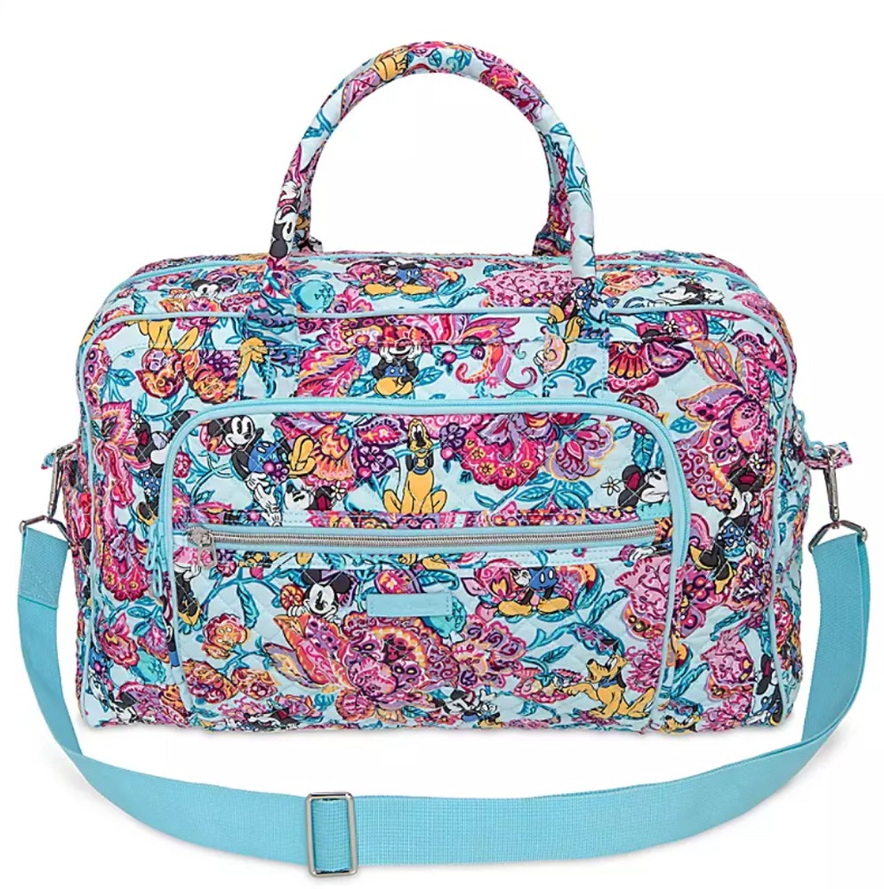 colorful garden vera bradley travel bag