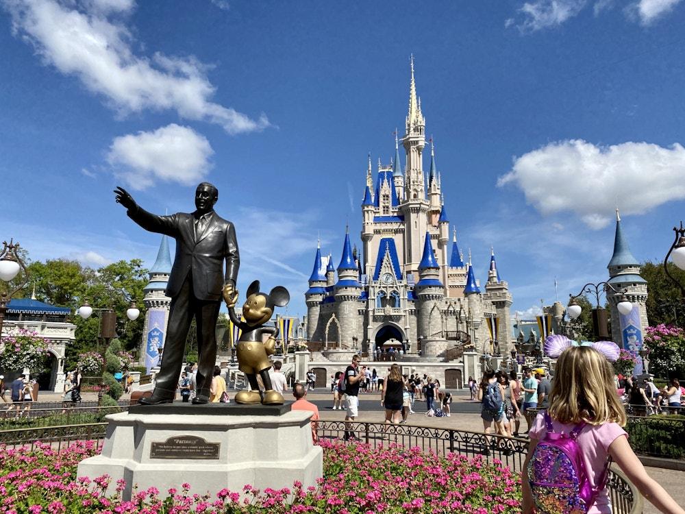 Partners Cinderella castle makeover