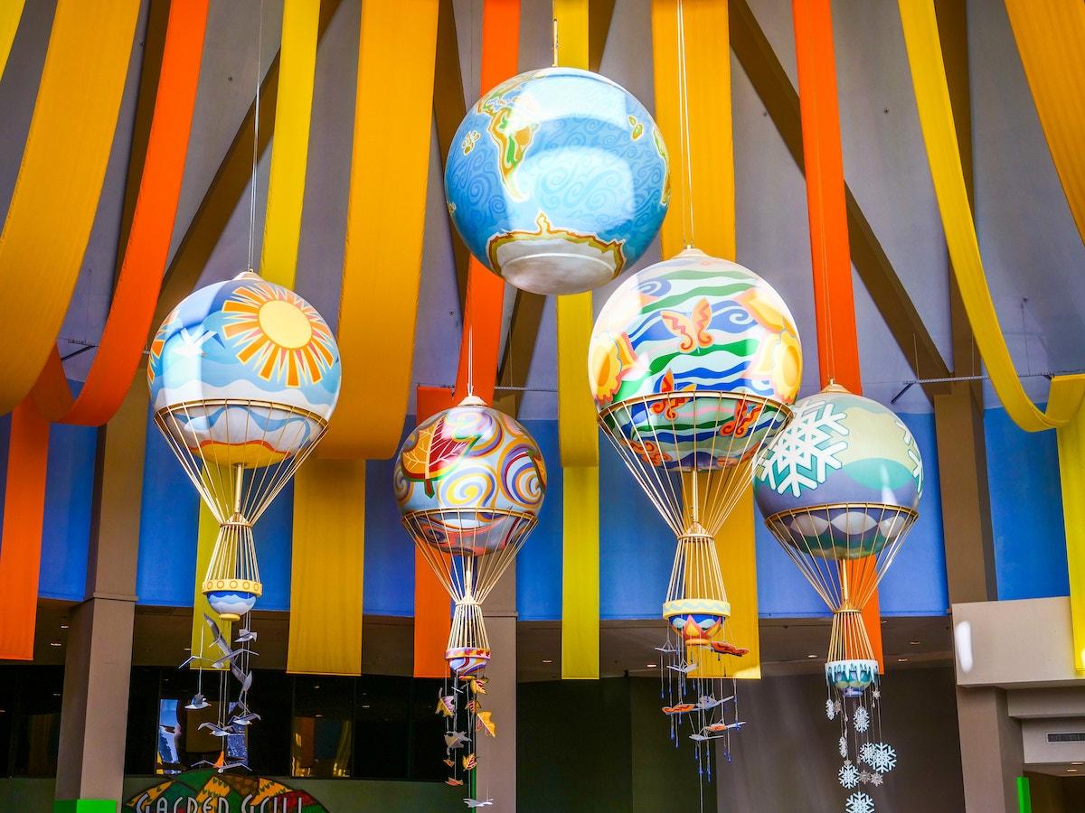 The Land Pavilion Balloons