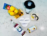 Frozen Desert Violet Lemonade