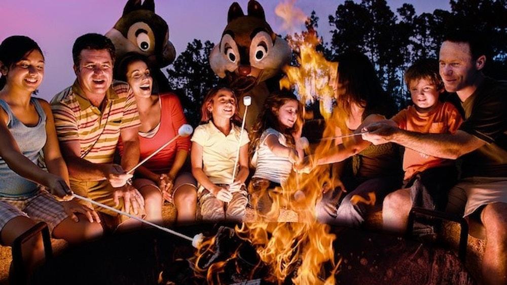 Walt Disney World Campfire