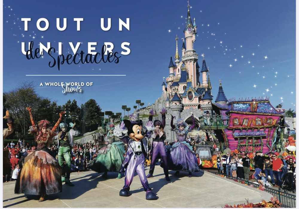 Disneyland Paris _ Heritage Booklet