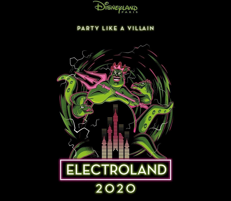electroland 2020 disneyland paris logo
