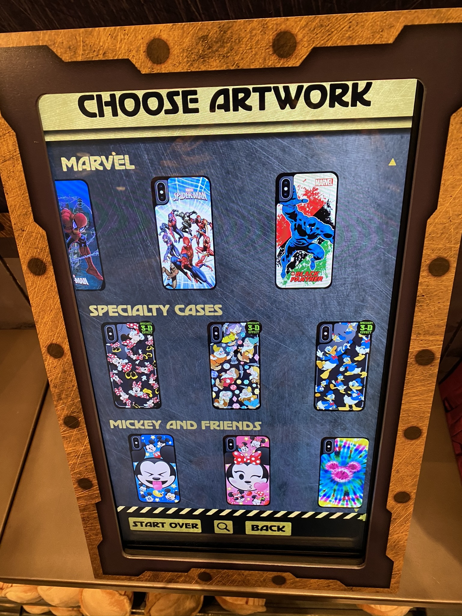 New MaDe Design Kiosk is Acquired at The Collector's Warehouse in Disney California Adventure
