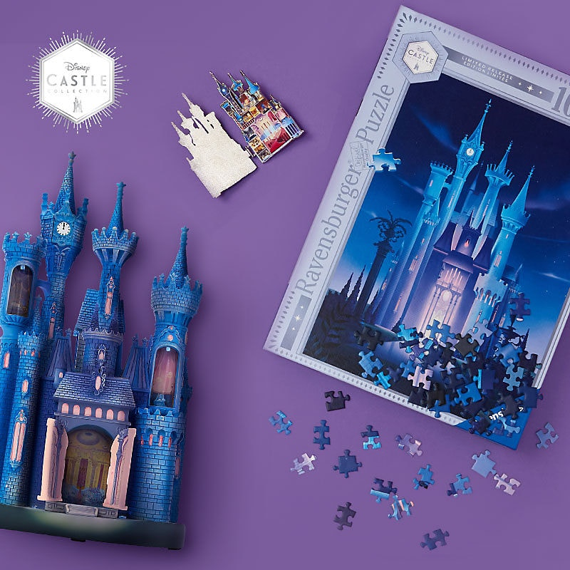 Photos New The Disney Castle Collection Merchandise Series Debuts On Shopdisney April 4th Wdw News Today