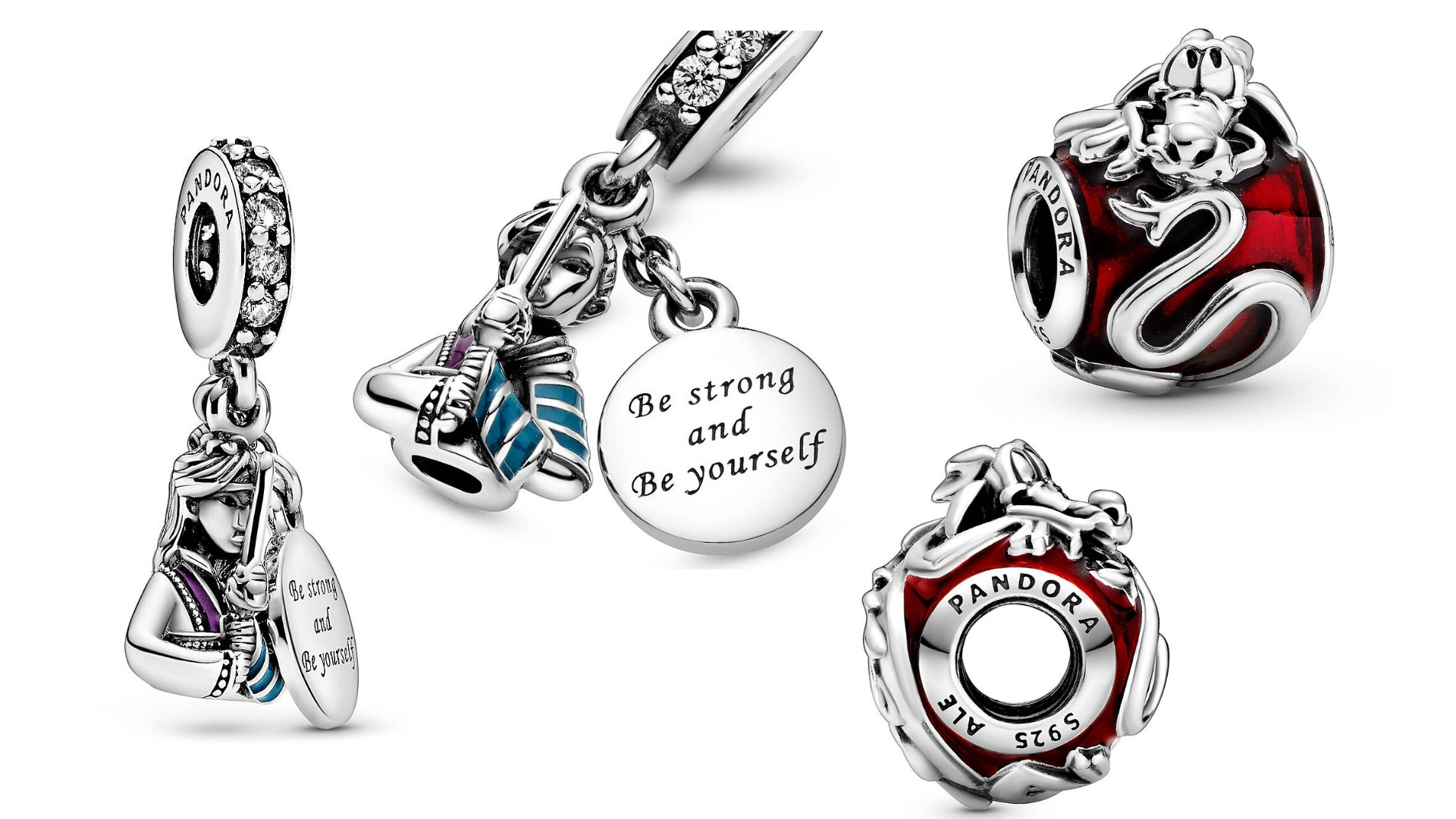 Shop New Mulan And Mushu Pandora Charms Bring Honor To Us All On Shopdisney Wdw News Today