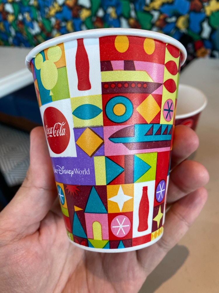 new wdw cups