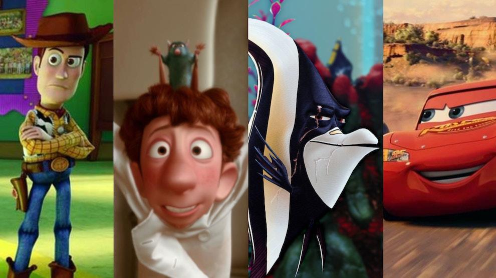 pixar movies part 1