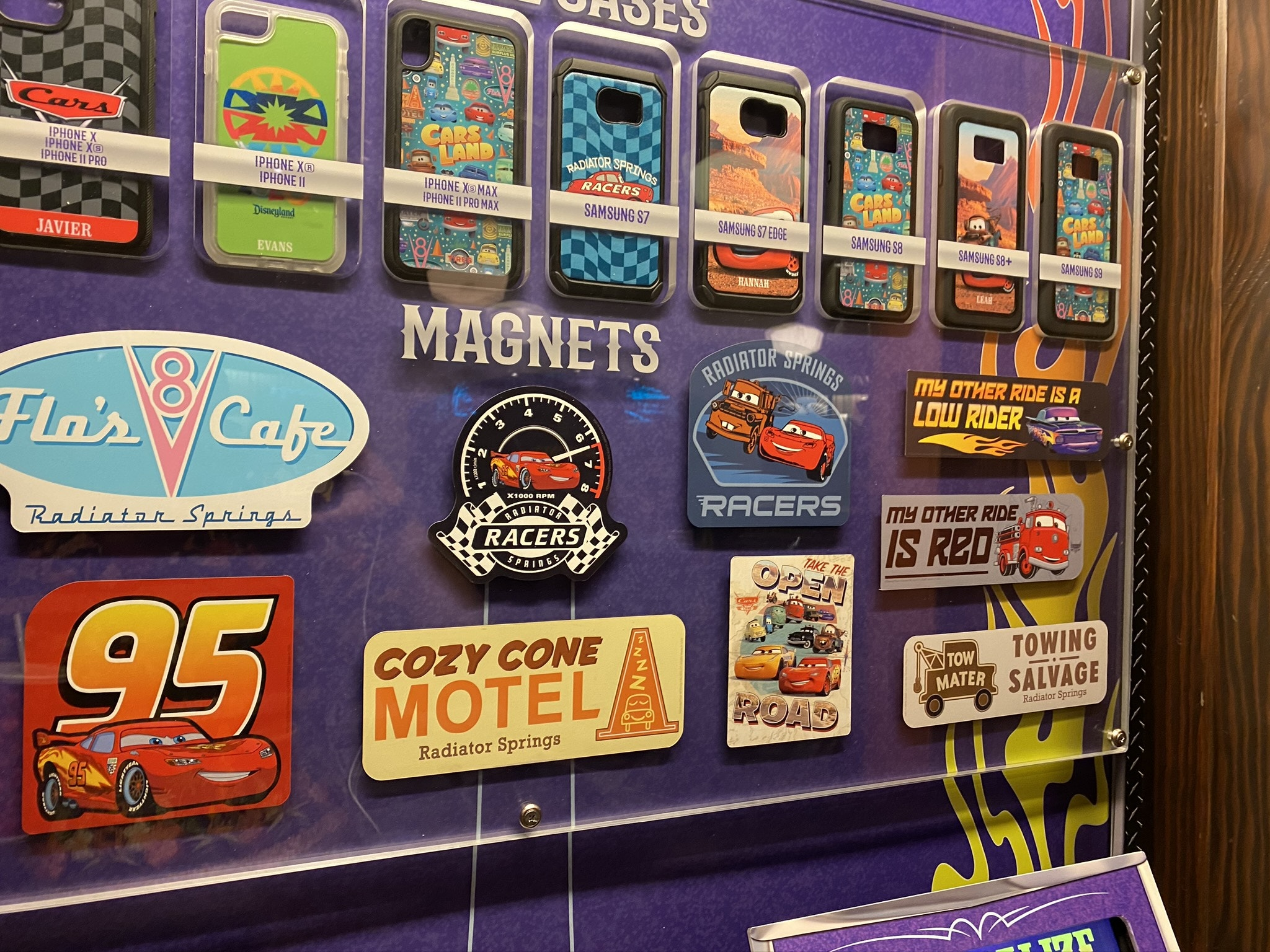 New MaDe Kiosk Rolls into Cars Land at Disney's California Adventure